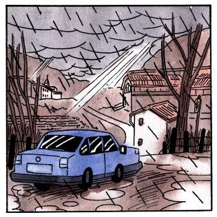 francesco saresin quella casa storia a fumetti
