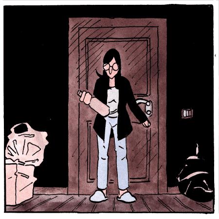 quella casa fumetto