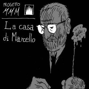 francesco saresin - storia a fumetti - la casa di marcello - progetto mmm