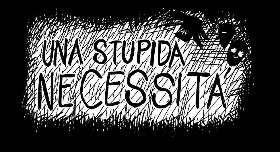 webcomic graphic novel una stupida necessità fumetti, slice of life