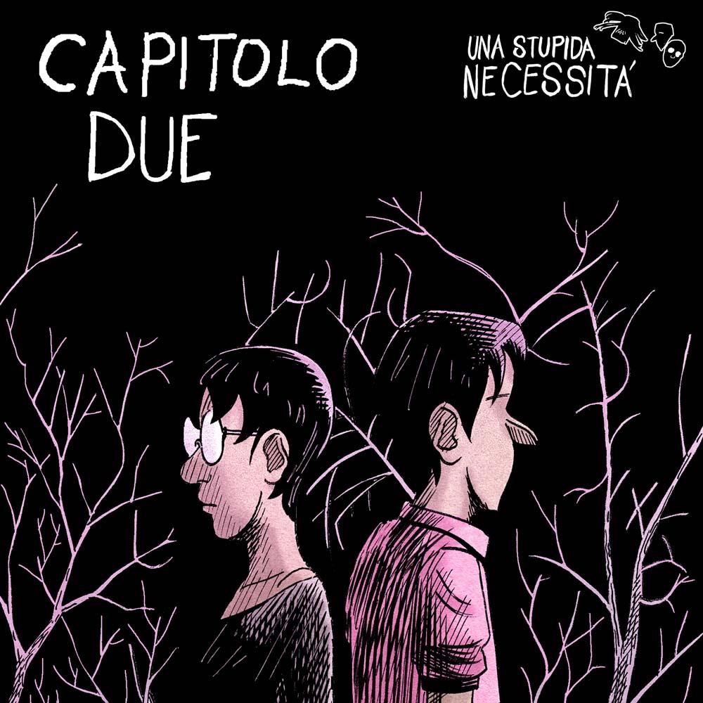 fumetto online storia a fumetti - francesco saresin- una stupida necessità - webcomic